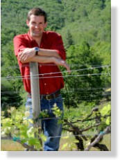 Gus Janeway - winemaker & owner of Velocity Cellars in Southern Oregon wine country