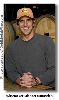 Winemaker Michael Sabastiani