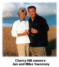 Cherry Hill Winery owners, Jan & Mike Sweeney