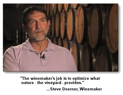 Steve Doerner, Cristom Vineyards winemaker