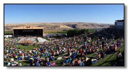 Concert at the Maryhill Amphitheatre